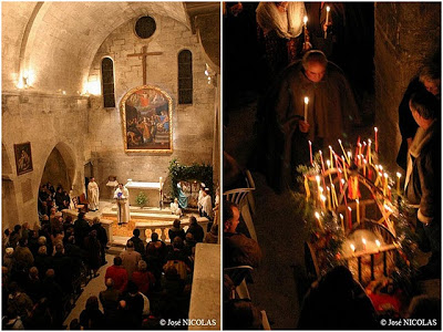 midnight mass les baux