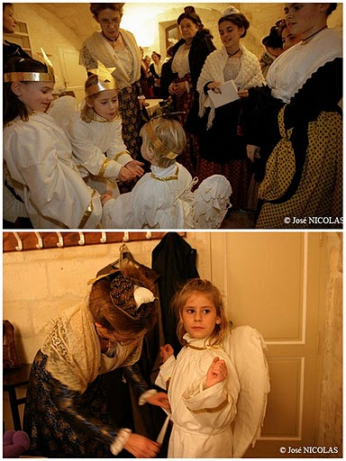 nativity play angels