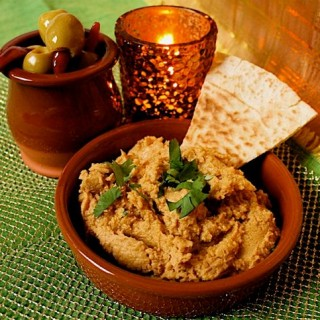 Recipe: sweet potato and lime hummus