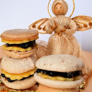 Recipe: mince pie macarons