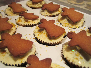 Recipe: gingerbread angel cookie and sparkling star