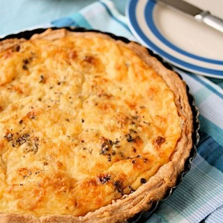 Recipe: butternut squash and taleggio tart