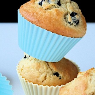 Recipe: blueberry and vanilla muffins
