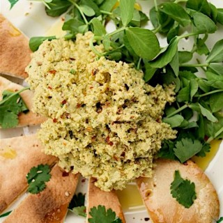 Recipe: lime and coriander hummus