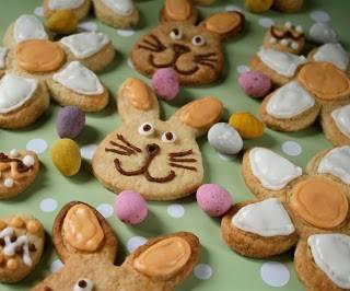 Recipe: Easter paté sablée cookies