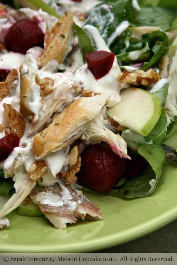 mackerel salad recipe