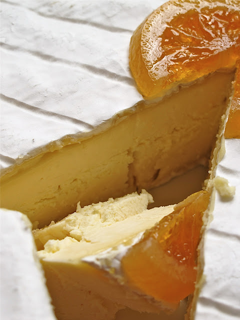 Waitrose christmas brie with grand marnier