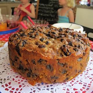 Recipe: Lapsang Souchong marzipan fruit cake