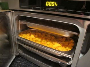 Making risotto in Miele steam oven