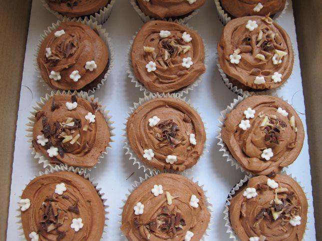 Chocolate Baileys Cupcakes