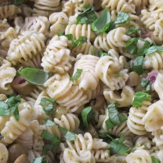 Recipe: pasta with cobnut pesto