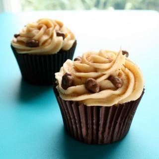 Recipe: Dime bar dulce de leche cupcakes