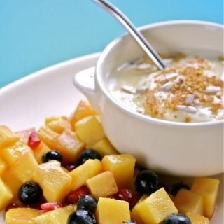 Breakfast Club yoghurt challenge