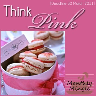 Think Pink! The Monthly Mingle Round Up