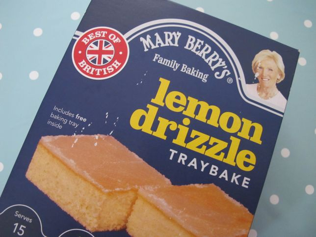 Paul Hollywood Lemon Cake Mix