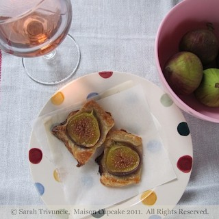 Recipe: mini fig galettes