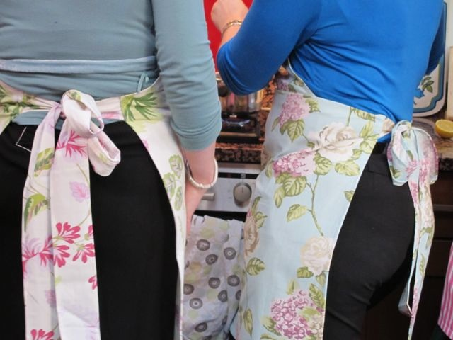 Posh Pinnies Aprons