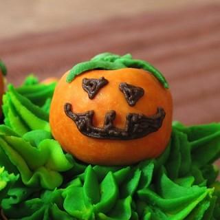 Recipe: evil pumpkin patch cupcakes