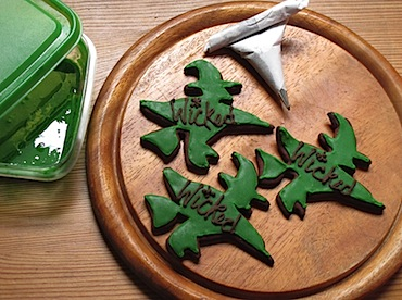 Wicked Witch Cookies