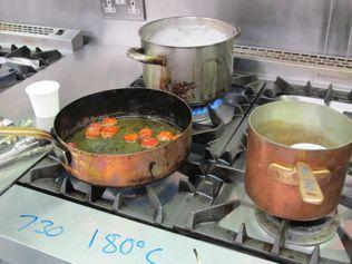 copper saucepans Leith's
