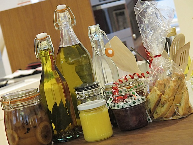 home made Christmas gifts for foodies
