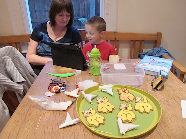 Pudsey Bear Cookies