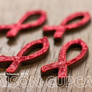 Recipe: red ribbon cookies for World AIDS Day