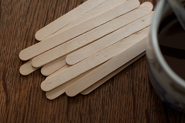 Lolly sticks for Christmas cake pops