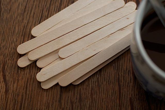 Lolly sticks for Christmas cake pops