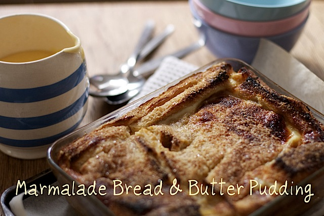 Marmalade-bread-butter-pudding