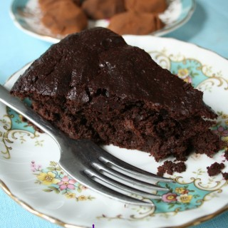 Recipe: aubergine chocolate cake