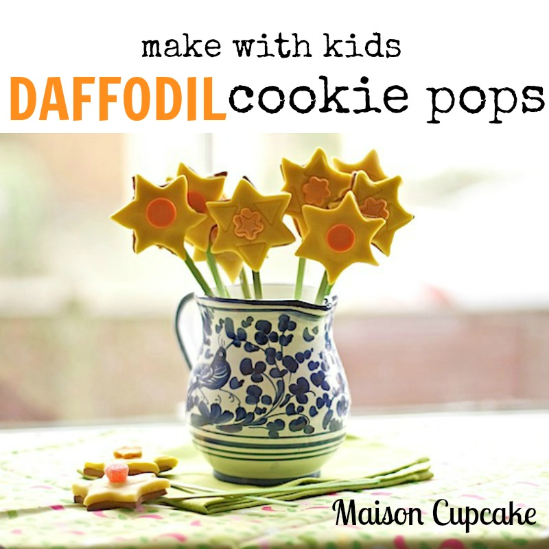Daffodil-cookie-pops