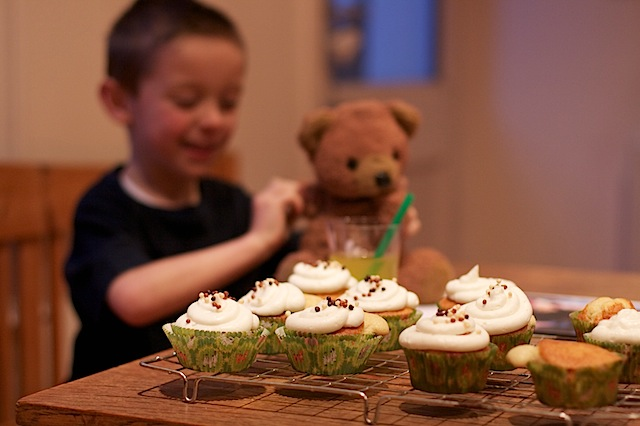 Results of Ready Made Cupcake Mix baking with children