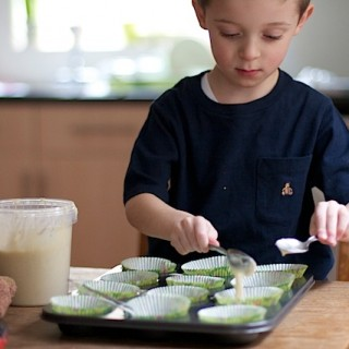 Why making cakes is child's play with ready made cupcake mix