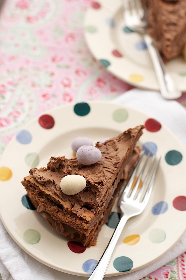 Easter Chocolate Cake Waitrose