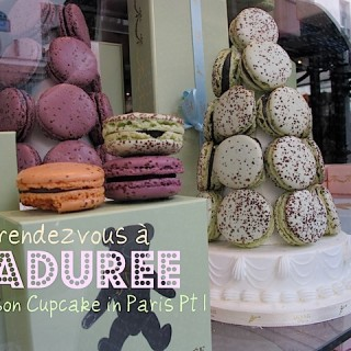 Lusting after Ladurée in Paris