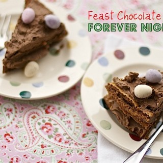 """Forever Nigella"" chocolate cake from Feast"