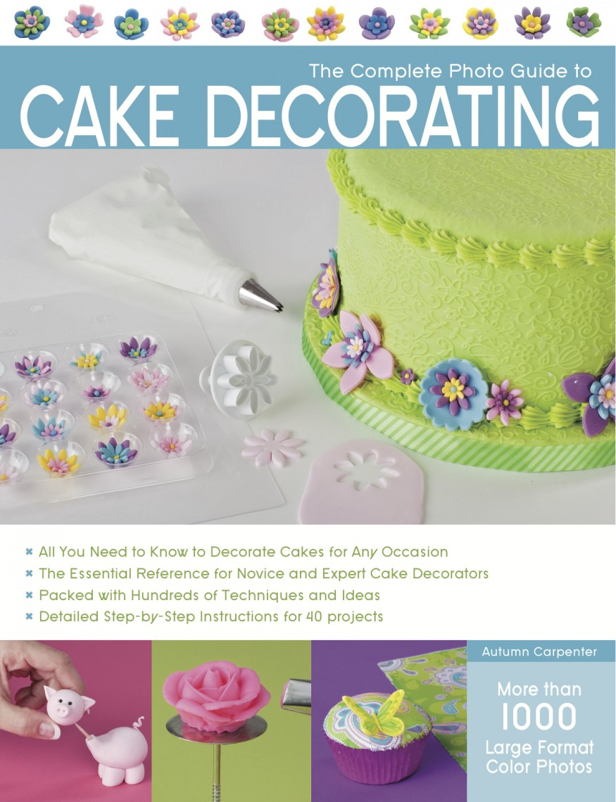 Cake And Cupcake Decorating Books : Cake decorating and baking books: April round up - Maison ...