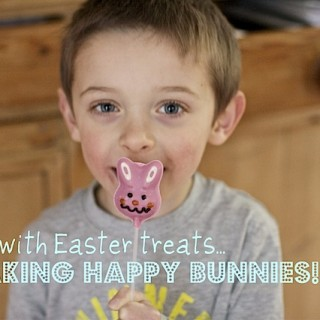 Recipe: Easter chocolate bunny pops