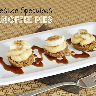 Recipe: speculoos mini banoffee pies