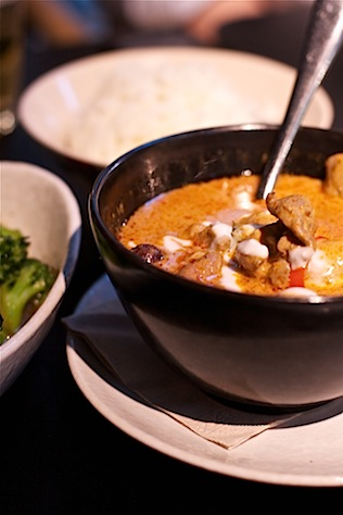 Red duck Thai curry