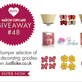 (CLOSED) Giveaway #48: JustBake.co.uk cake decorating goodies
