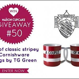 (CLOSED) Giveaway #50: Win TG Green red Cornishware