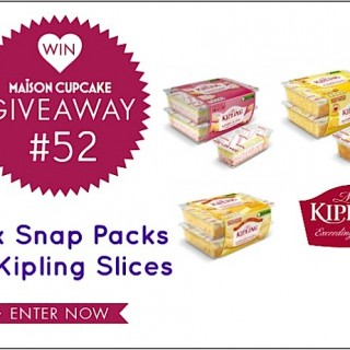 (CLOSED) Giveaway #52: Mr Kipling slices snap packs
