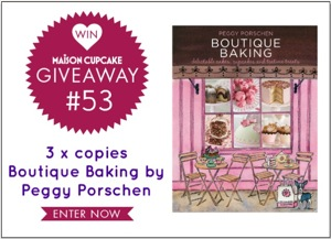 Giveaway 53 peggy porschen boutique baking