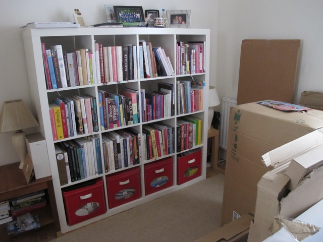 White IKEA Expedit Bookshelf