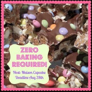 Zero baking required! Brand new blog event!