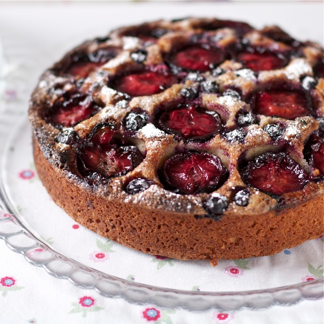 gluten free plum cake recipe hannah miles