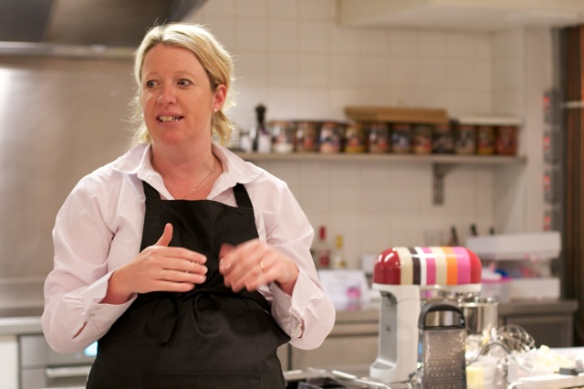Miranda Gore-Brown Great British Bake Off finalist