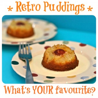retro pudding recipe ideas